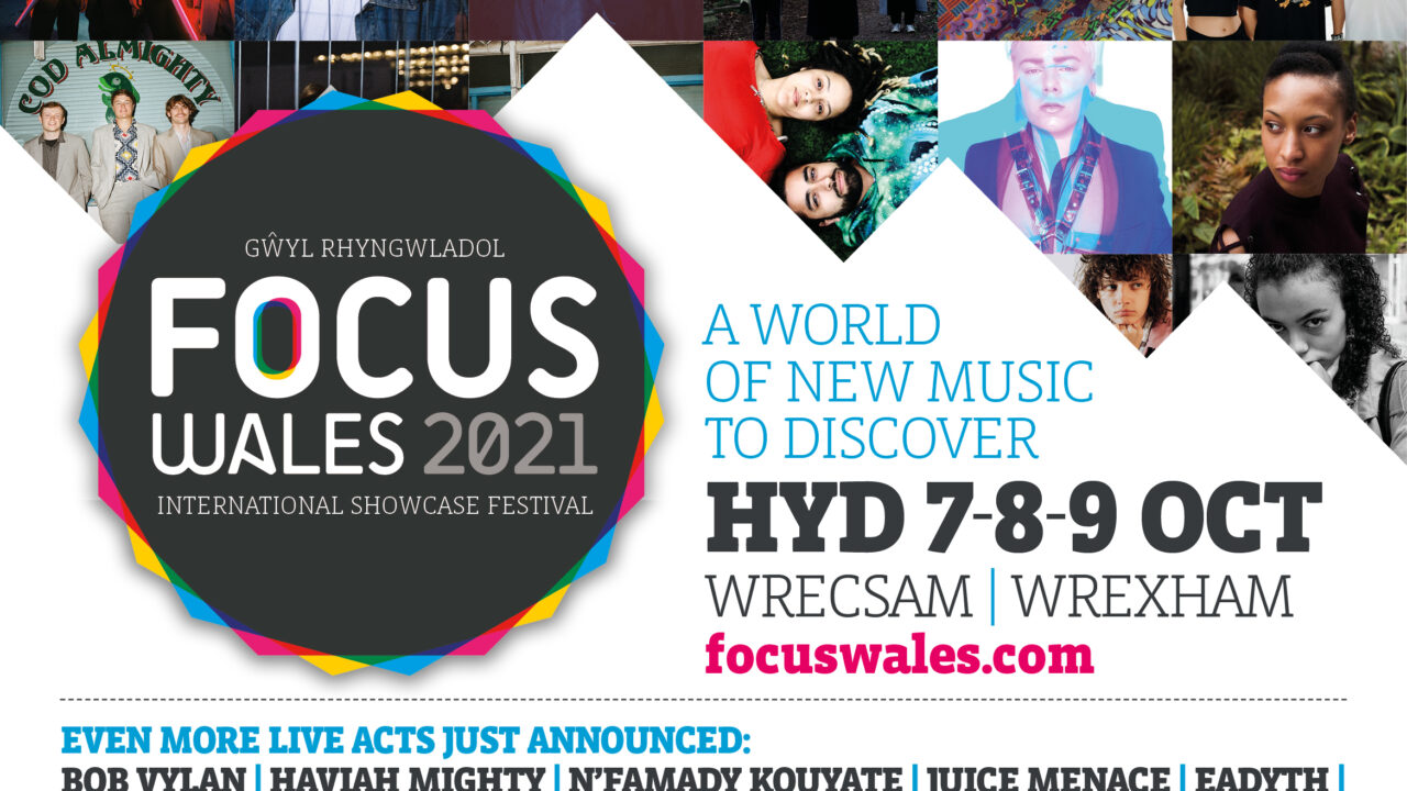 Focus Wales 2021 poster