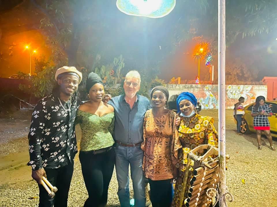 N'famady Kouyaté at the FGCC