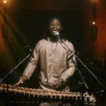 N'famady Kouyaté playing balafon