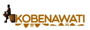 Kobenawati logo featuring djembe player