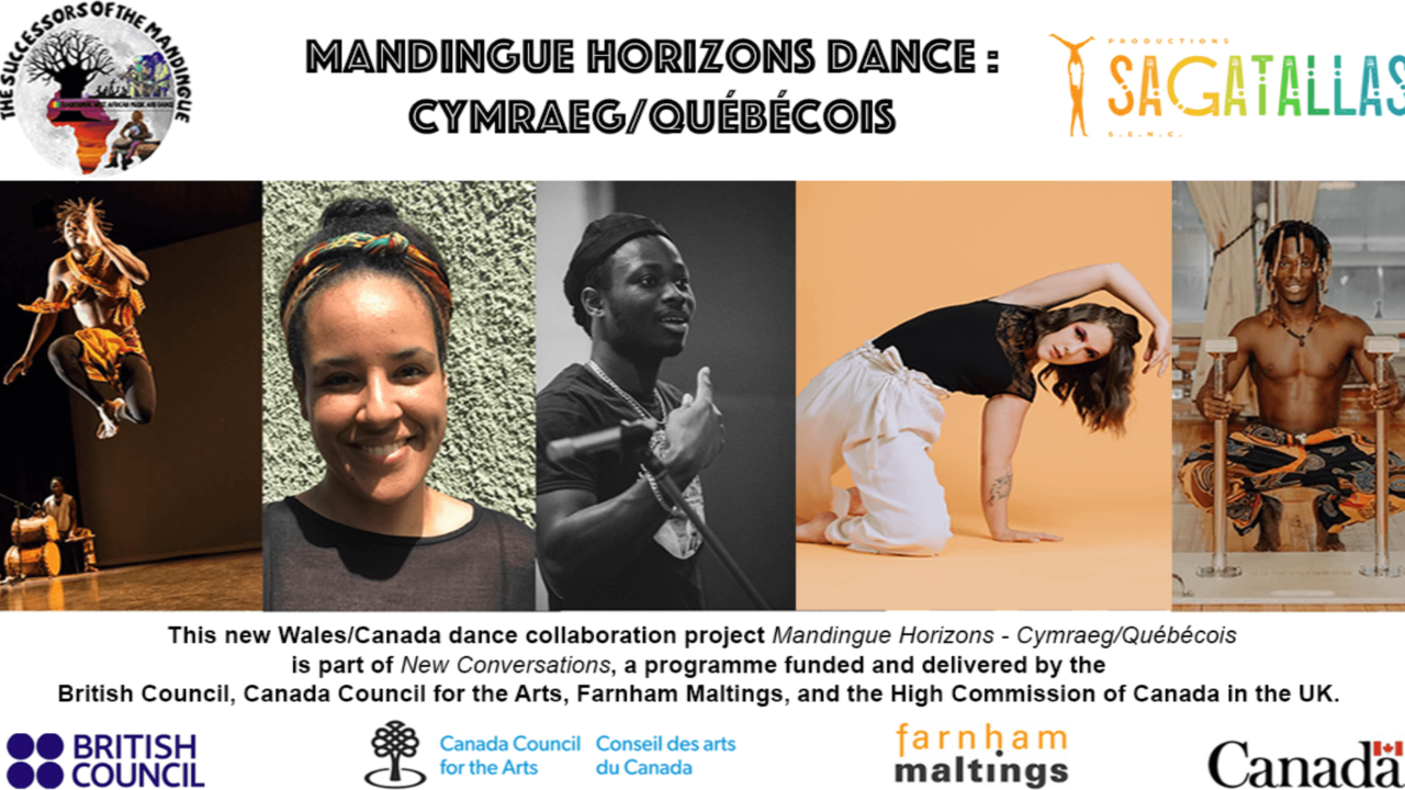 UK/Canada Dance project flyer