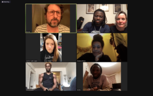 Project Zoom meeting